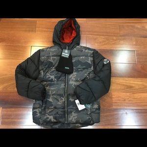 Boys Sequoia Black Very Warm Jacket